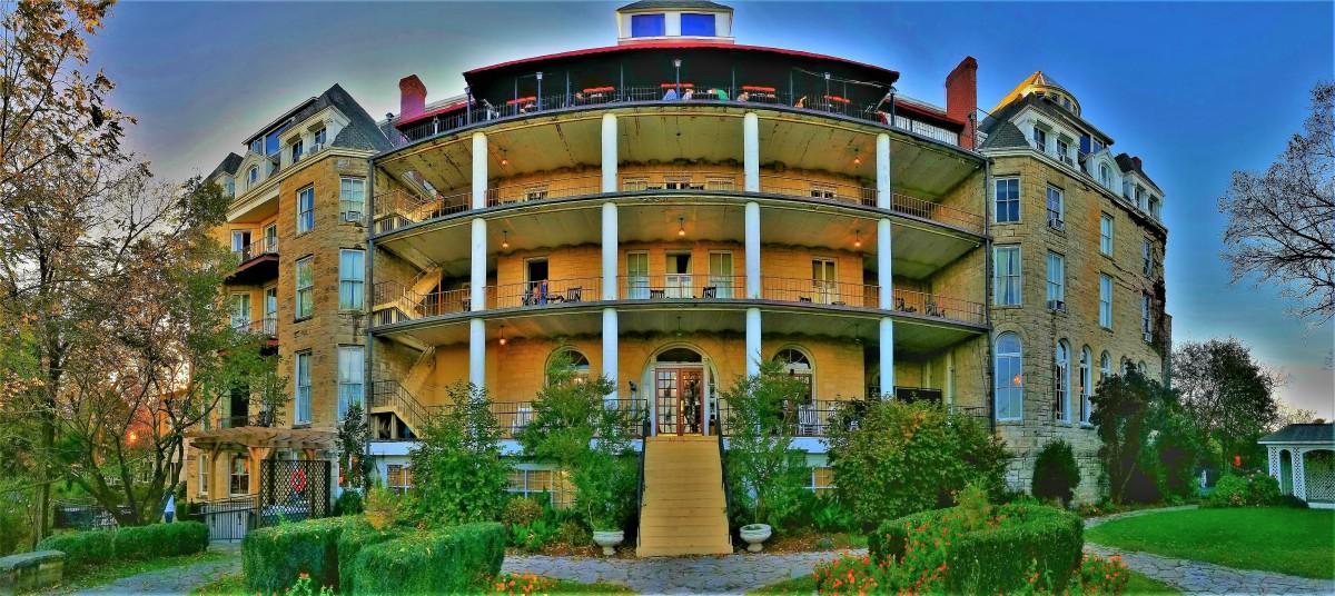 Crescent Hotel, Eureka Springs, AR