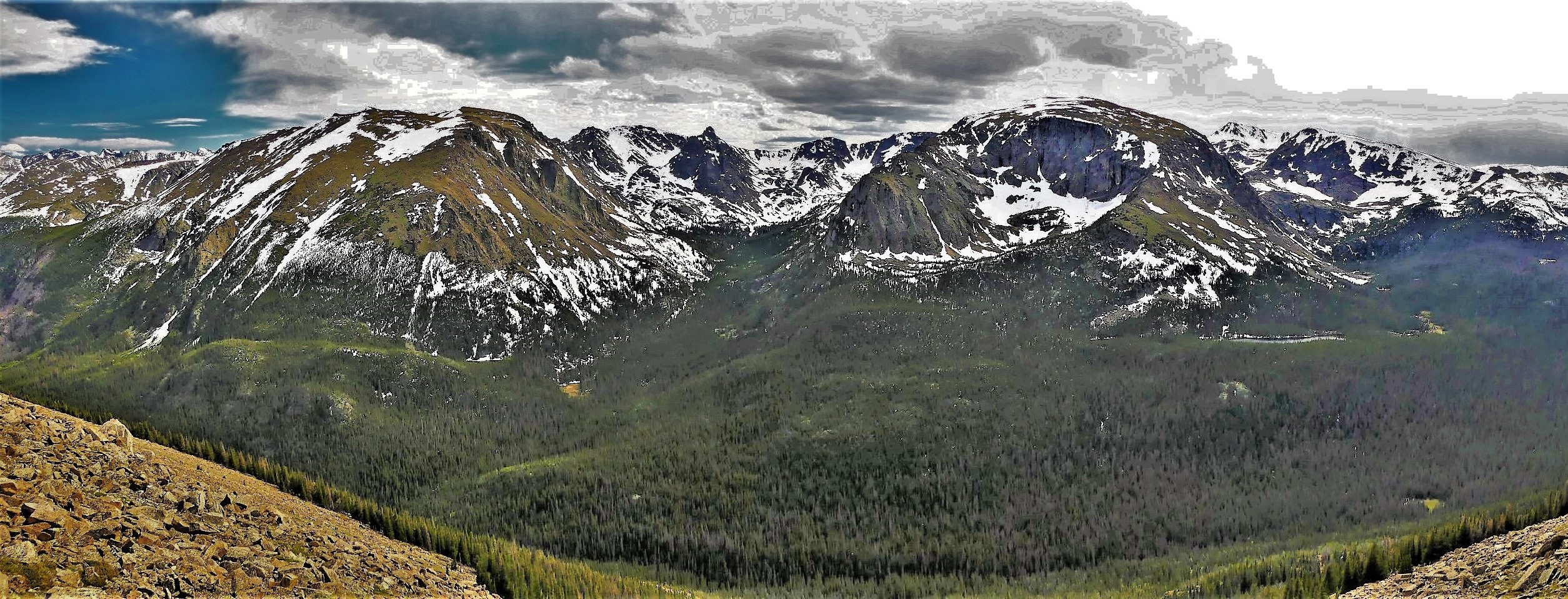 Forest Canyon, Rocky Mountain NP