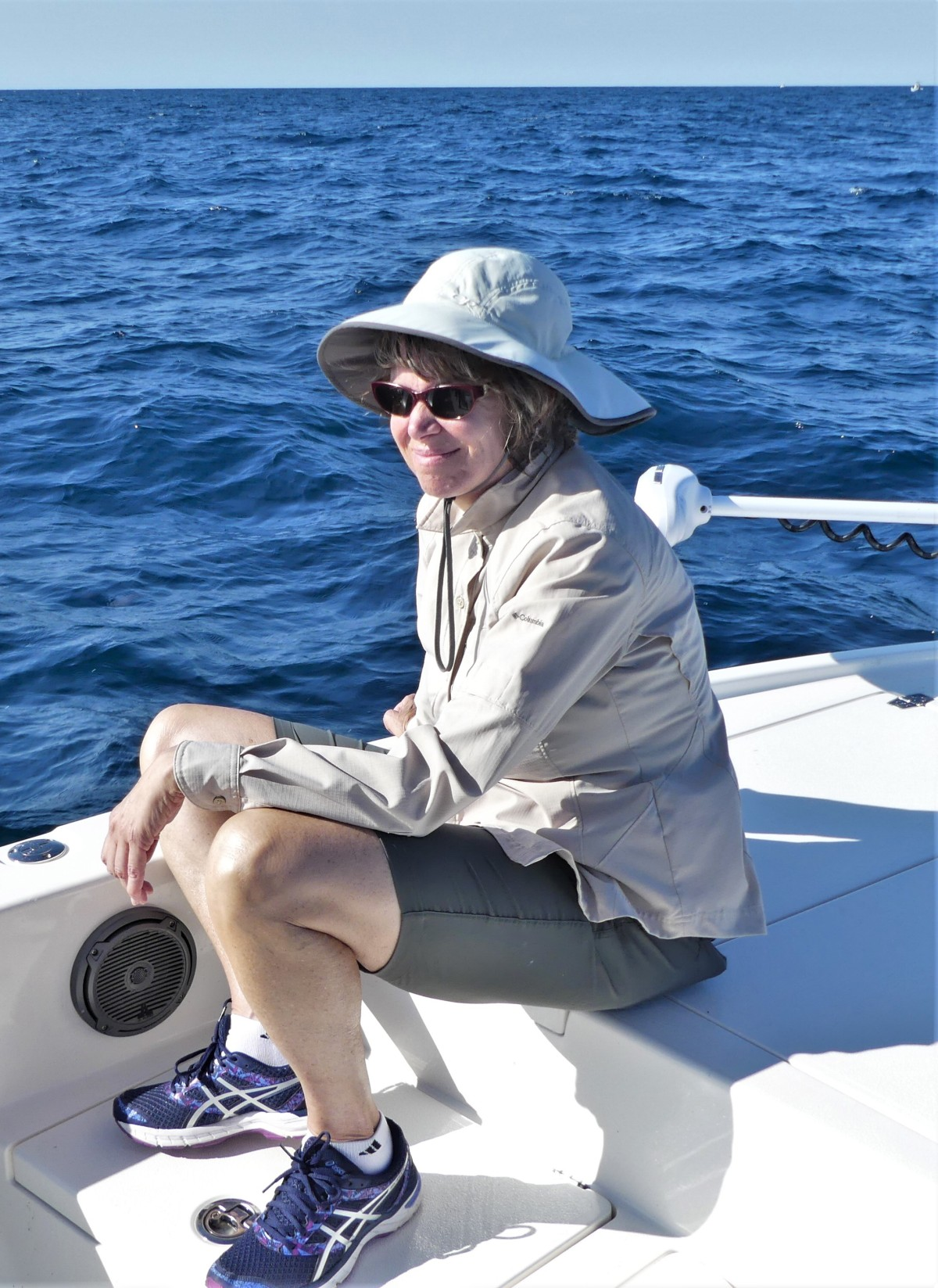 Leah on the Atlantic
