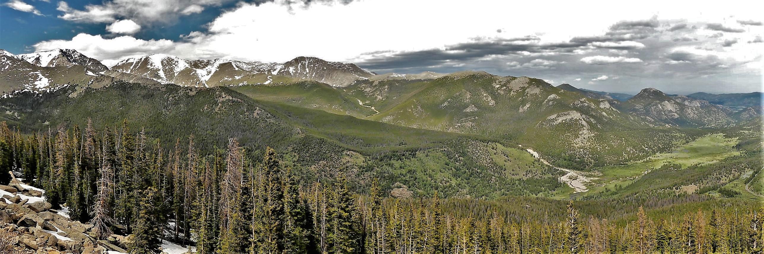 Rainbow Curve, Rocky Mountain NP