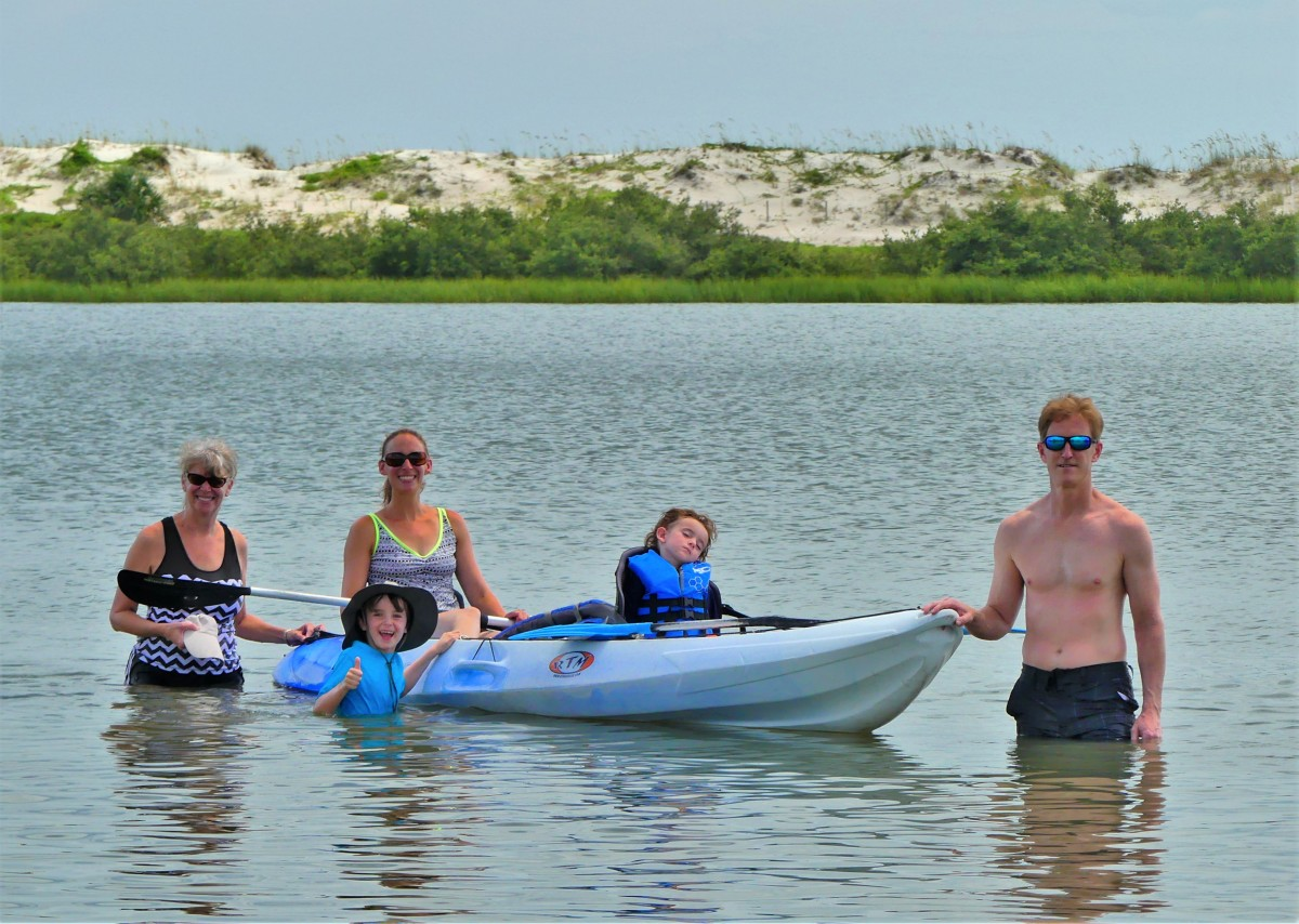 The Aikens, Grammy, and Kayak