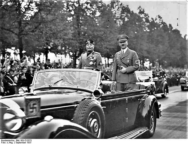 Berlin, Benito Mussolini, Adolf Hitler