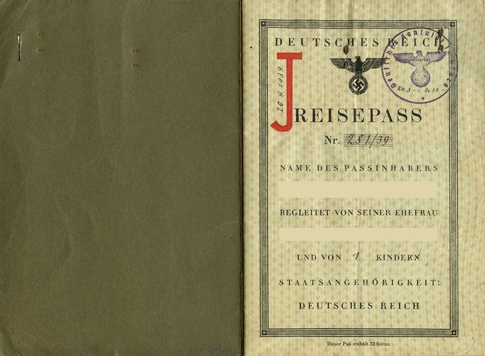 German Passport (2)