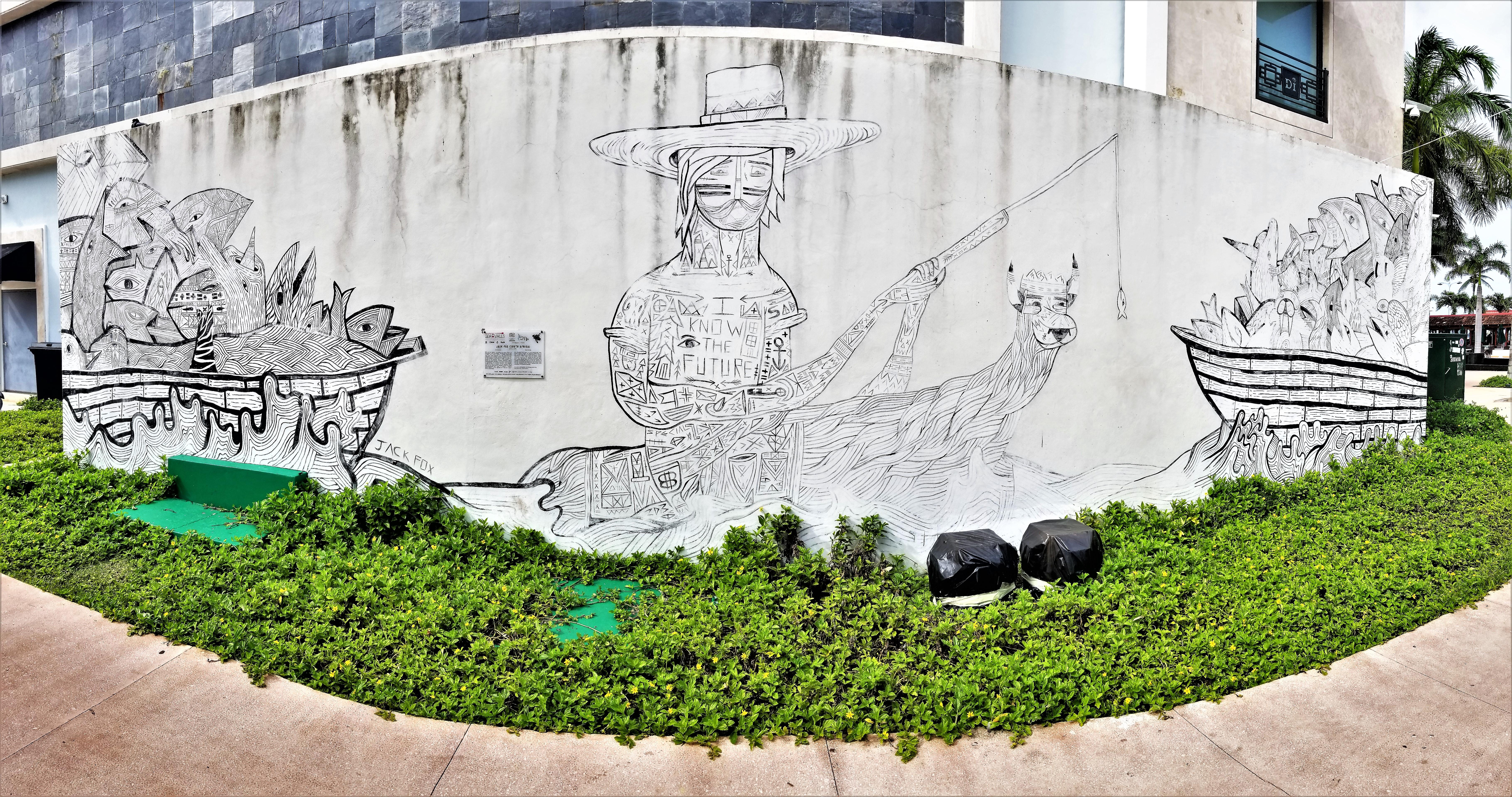 overfishing mural