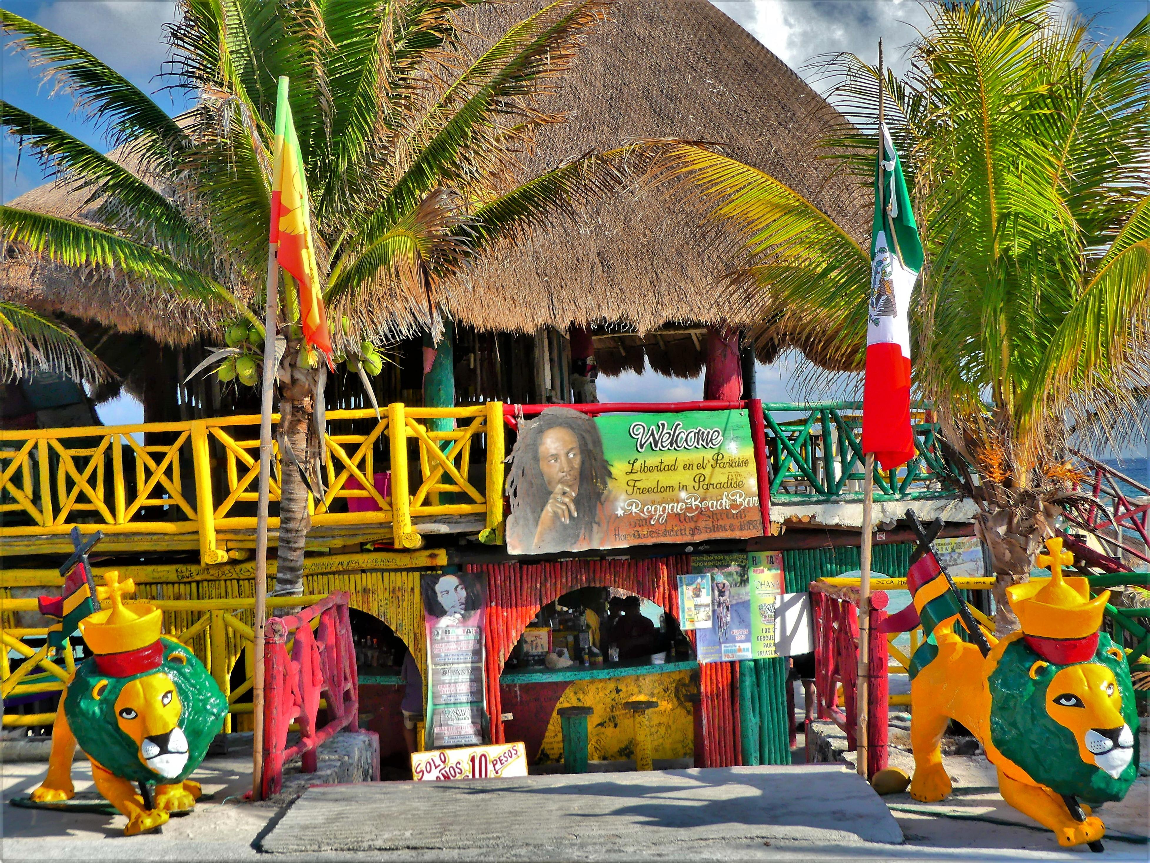 reggae beach bar