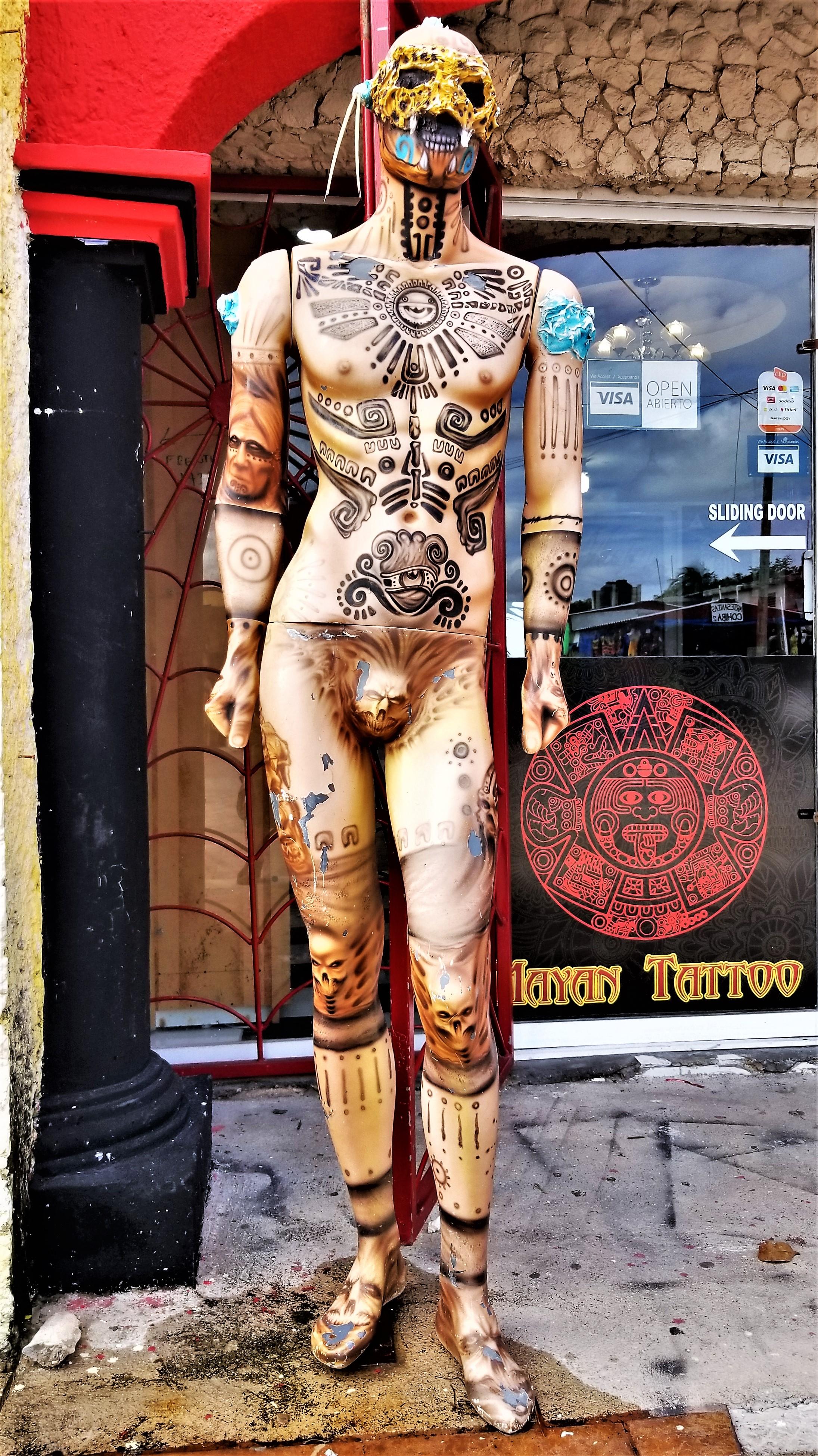tattoo calaca