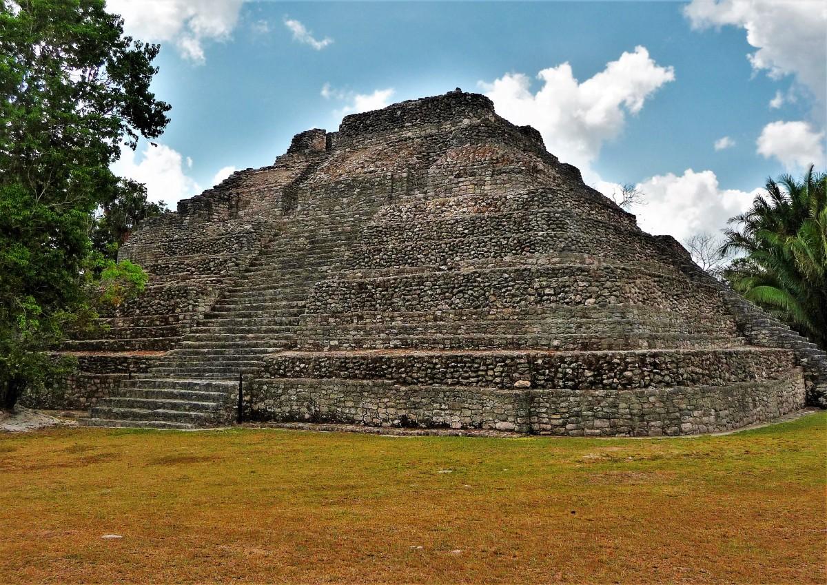 Chaccoben temple @ Costa Maya