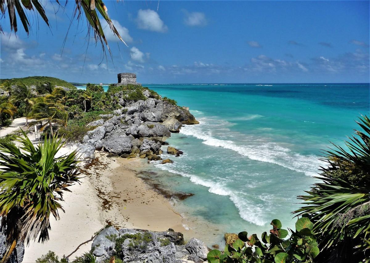Tulum coastline