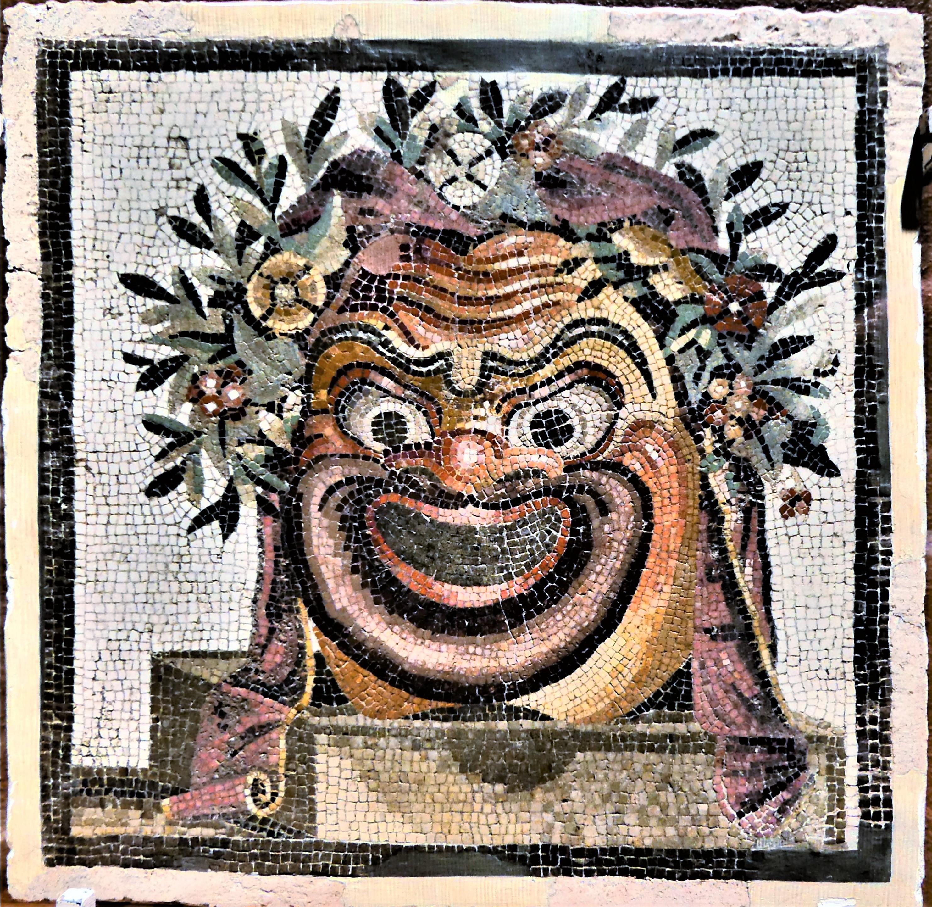 1 AD mosaic