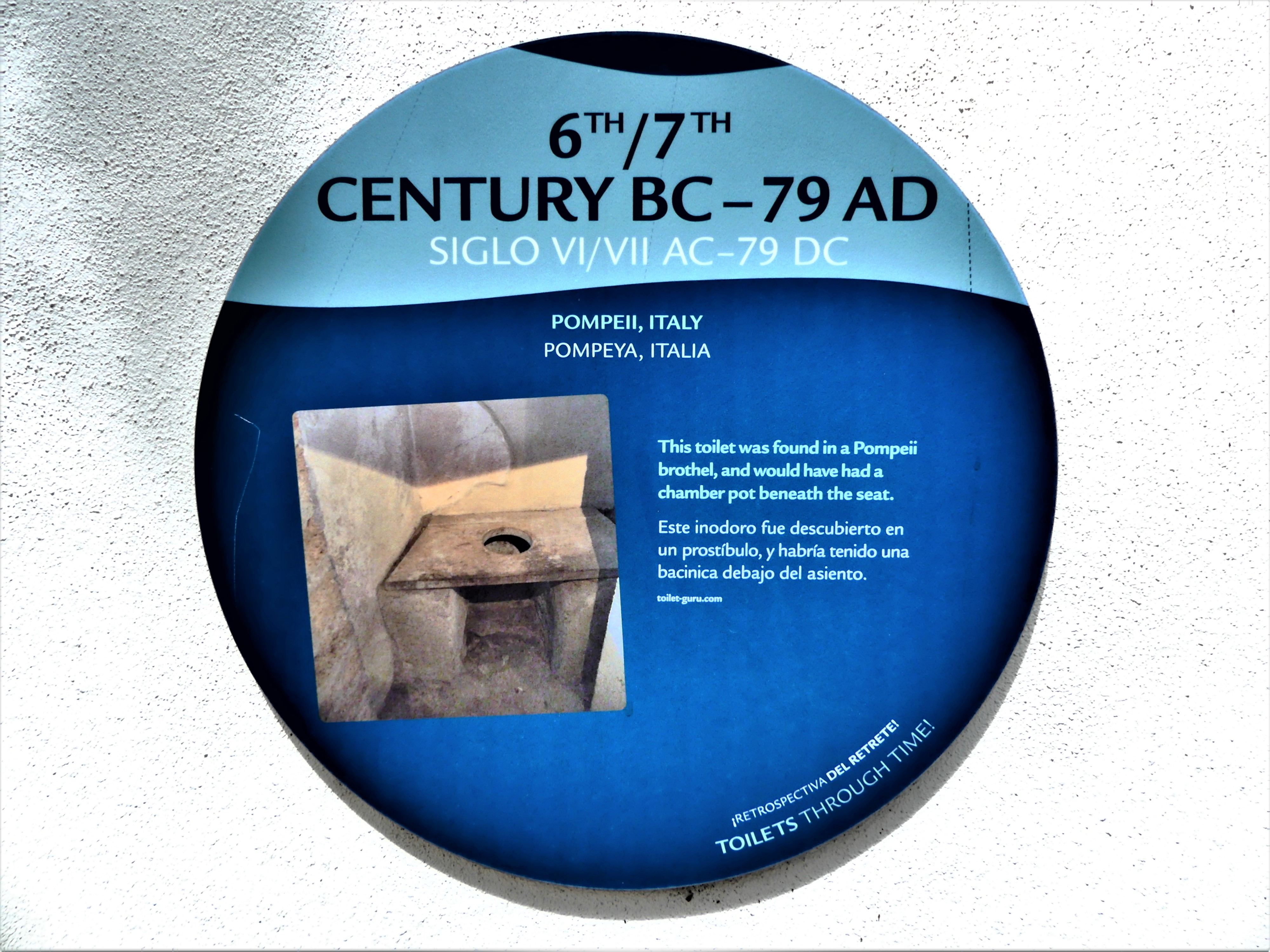 6th & 7th century BC-79 AD