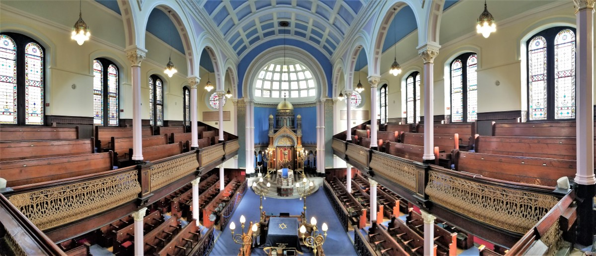 Garnethill Synagogue panorama