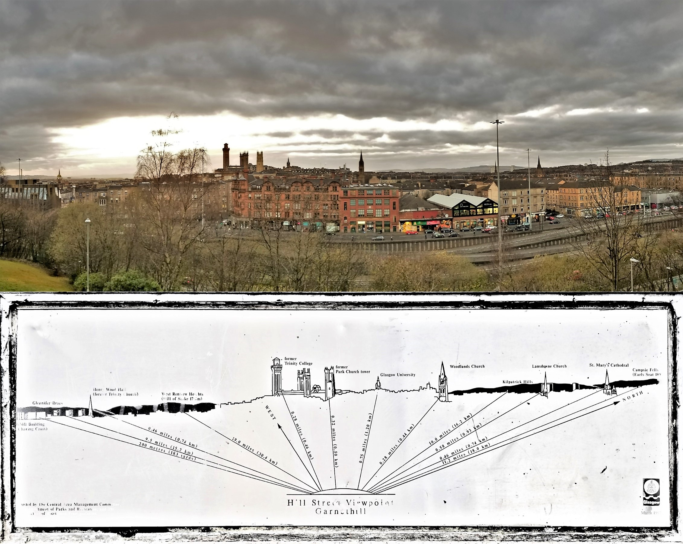 Glasgow skyline composite (2)