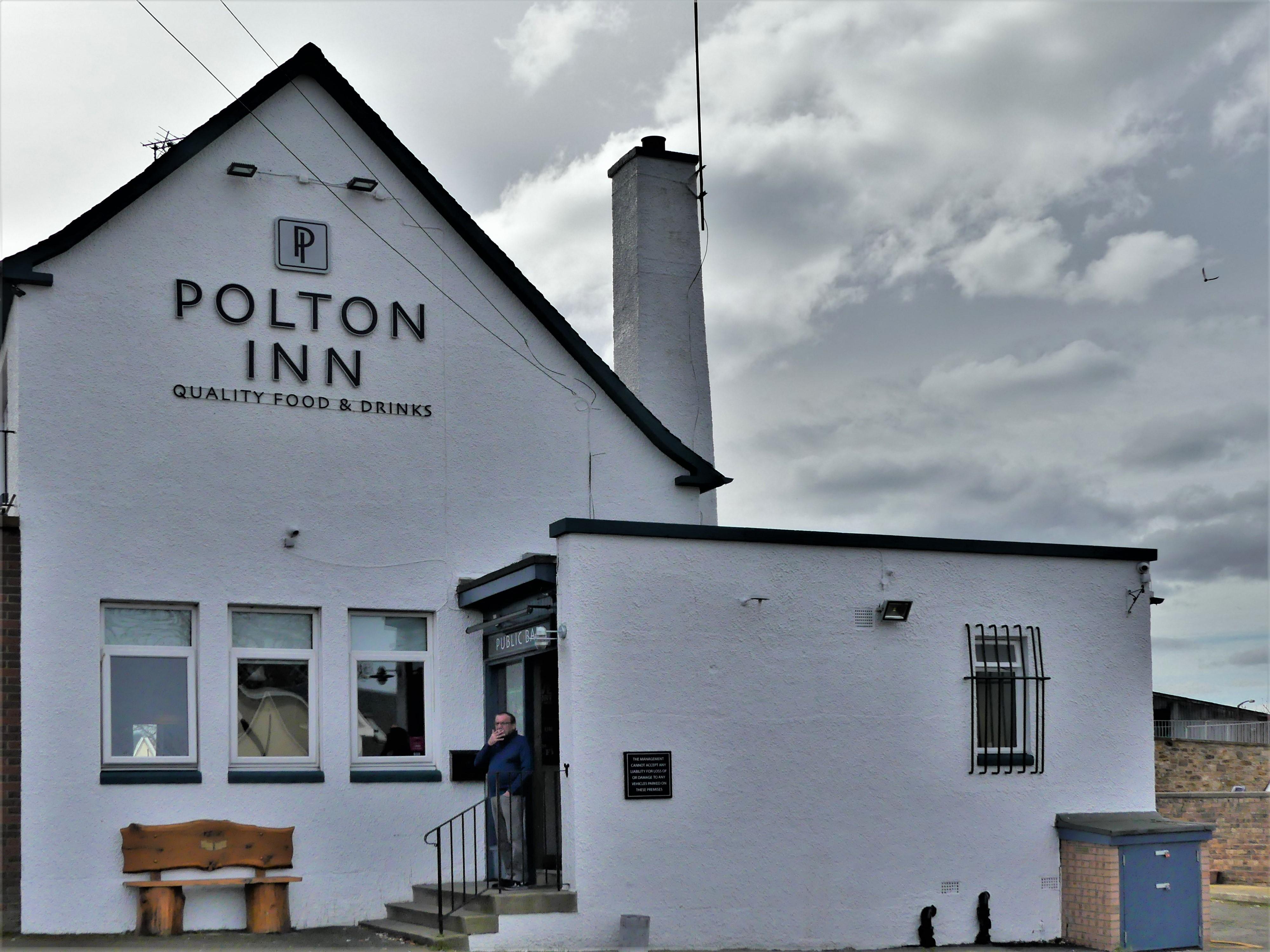 Polton Inn wall