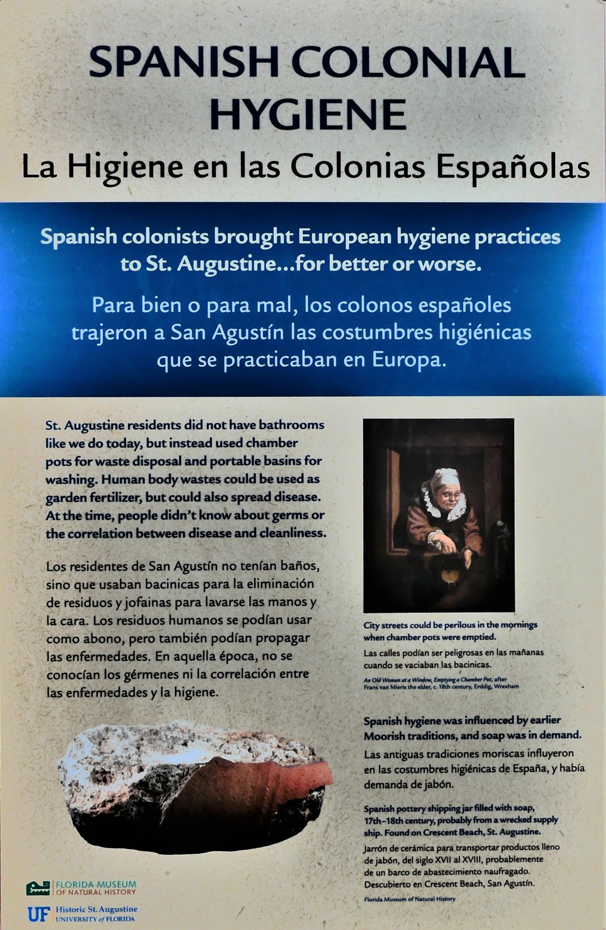 Spanish Colonial Hygiene