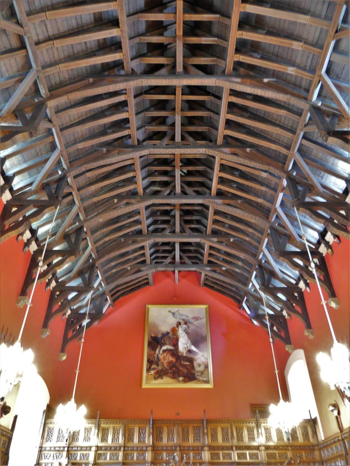 Great Hall timber ceiling
