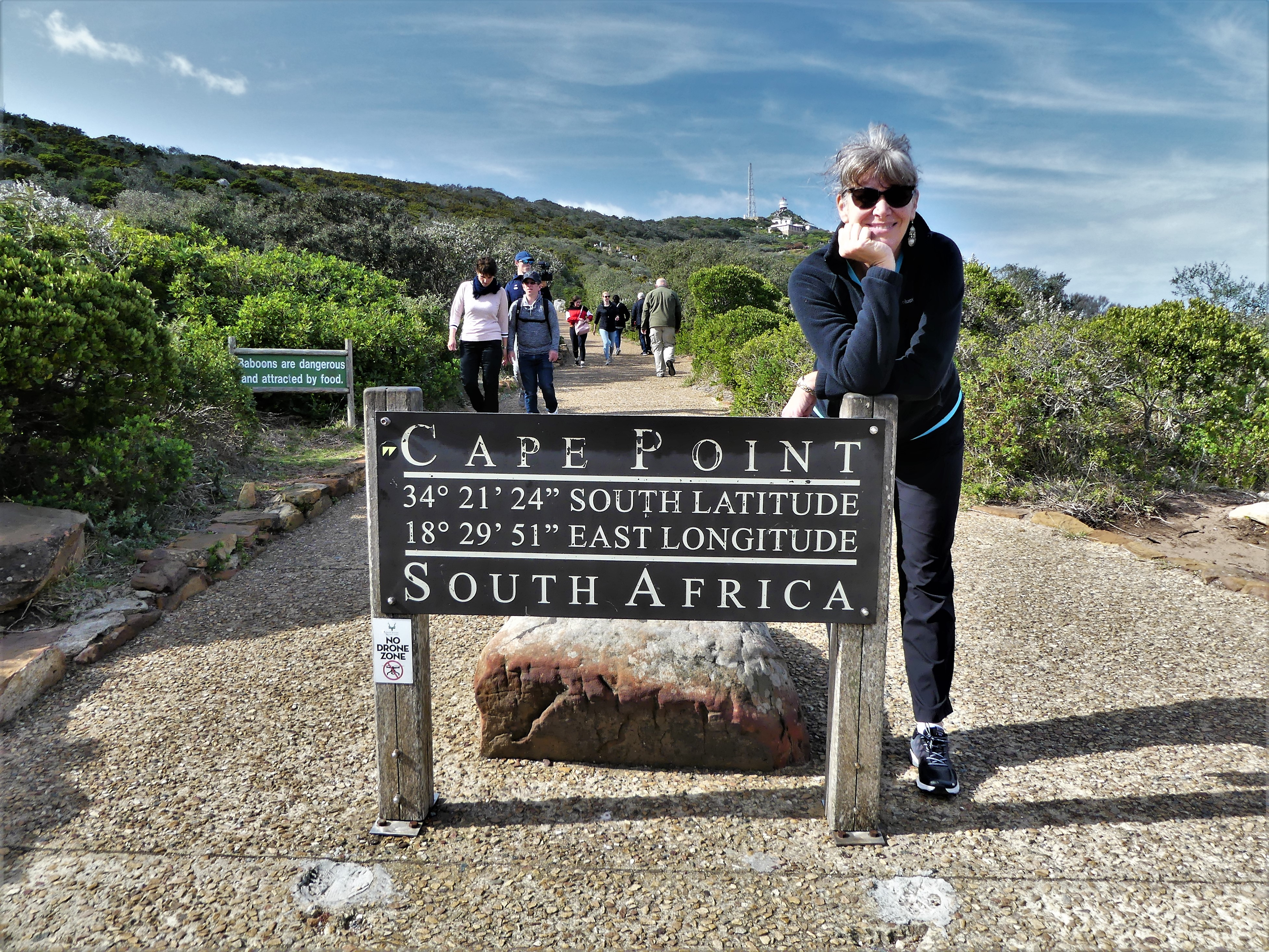 Cape Point and Leah