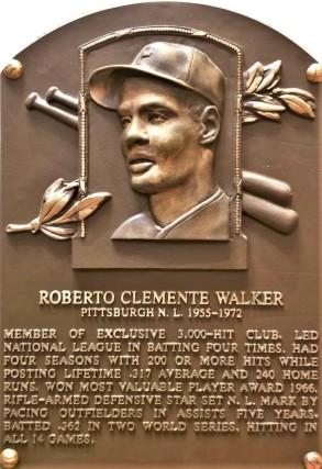 Clemente plaque (2)