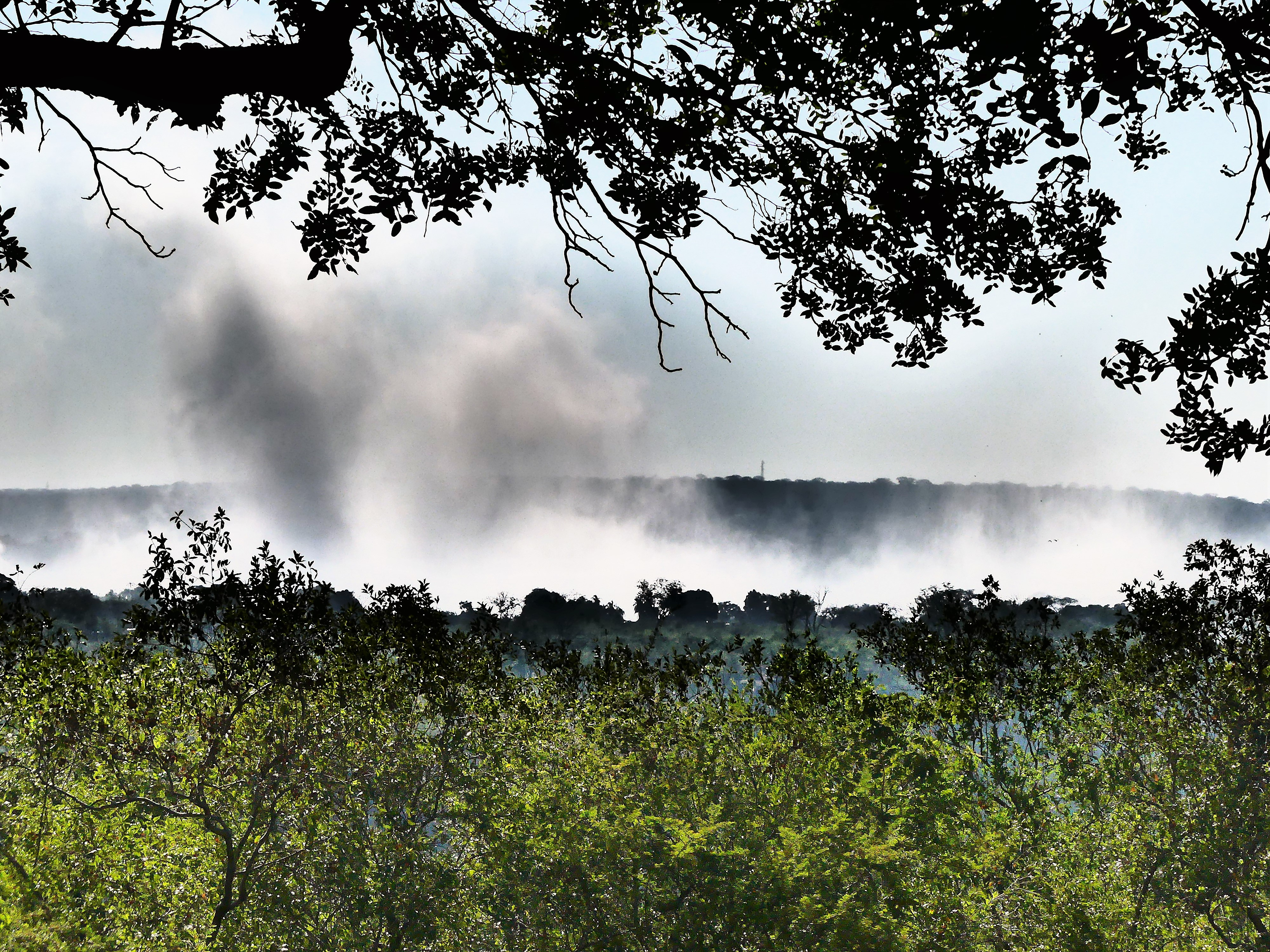 Mist over Zambezi