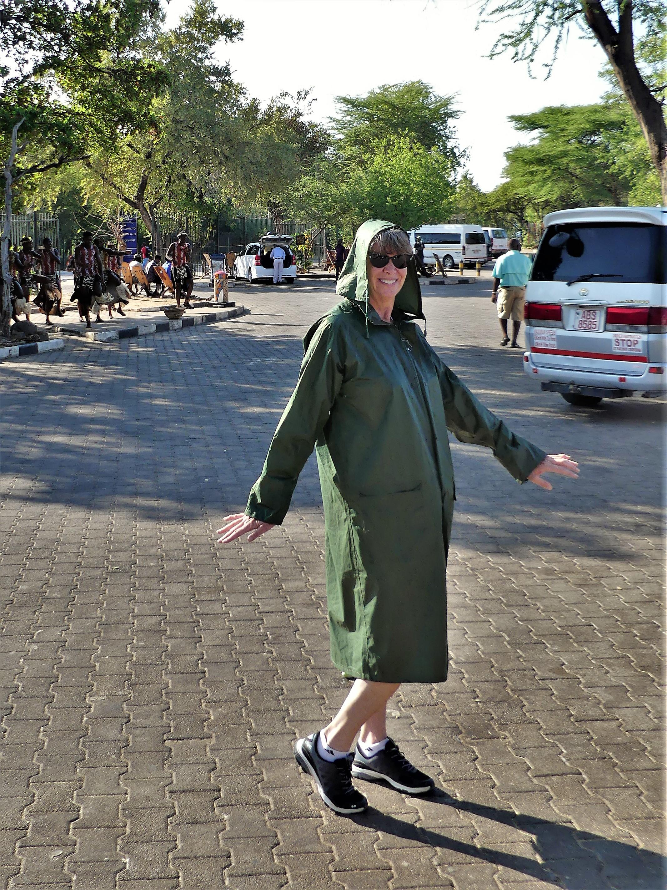 raincoat model
