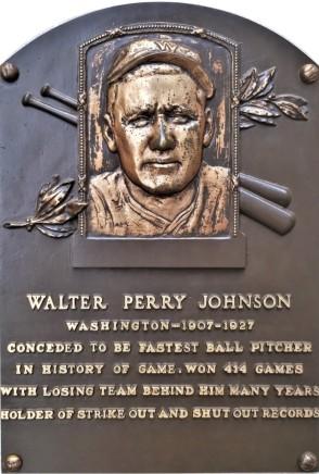 Walter Johnson plaque (2)