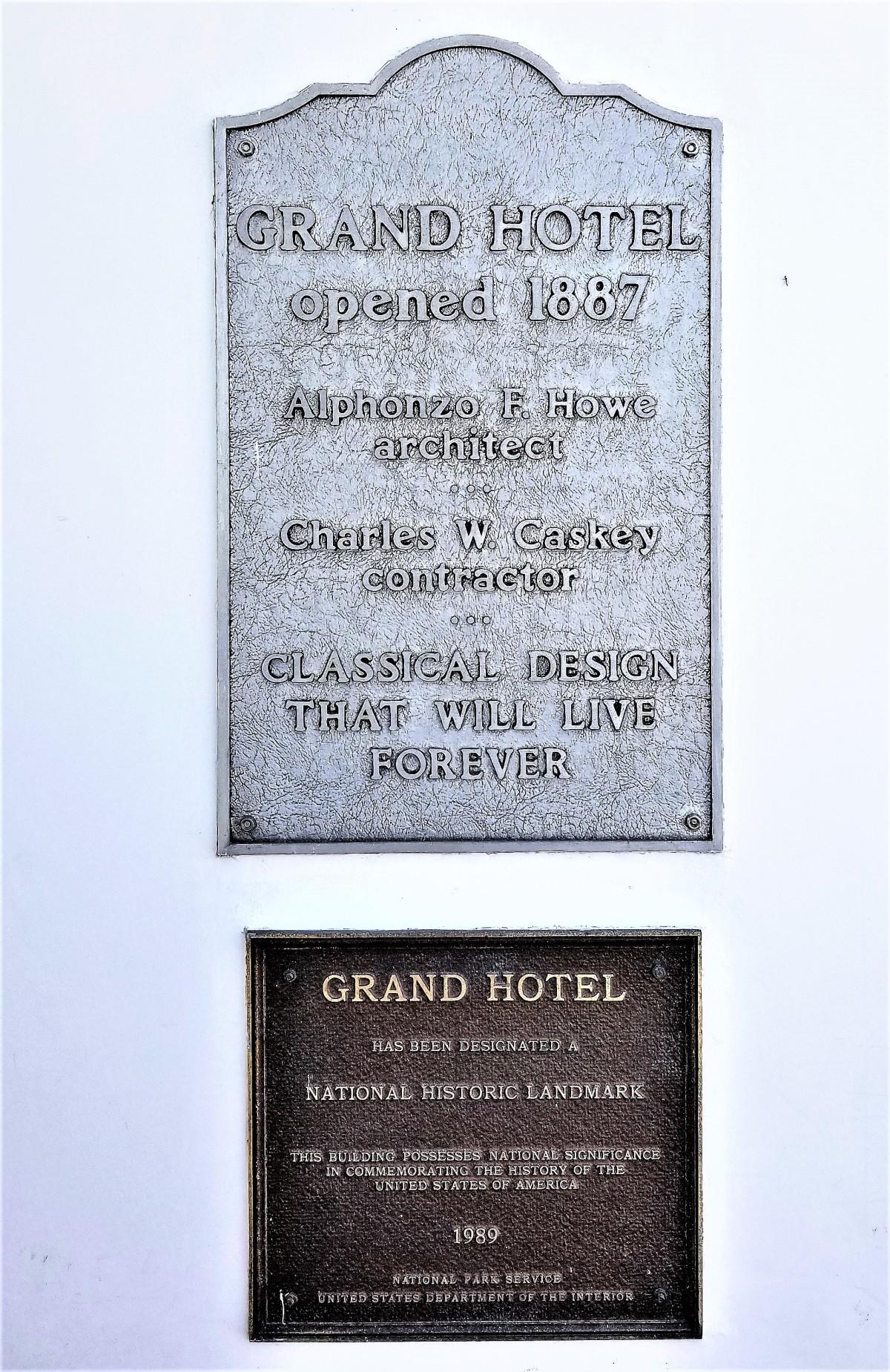 Grand Hotel award