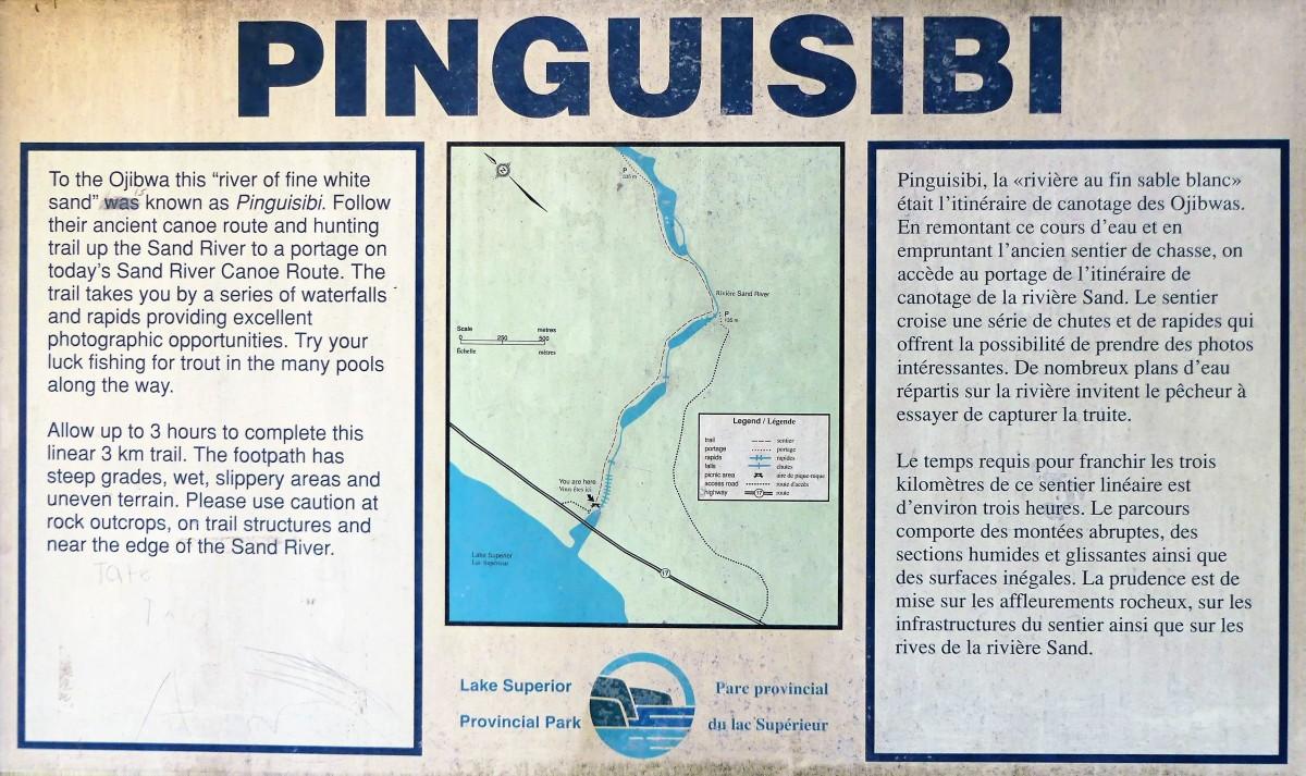 Pinguisibi Trail sign (2)