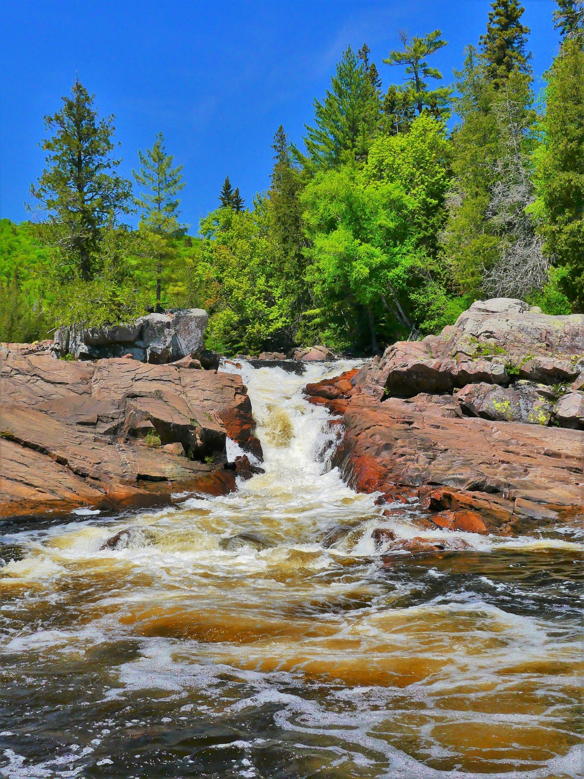rapids chute
