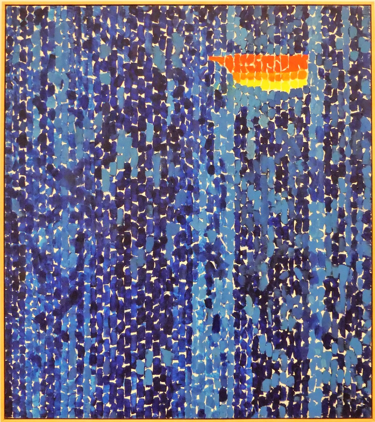Alma Thomas's Starry Night and the Astronauts