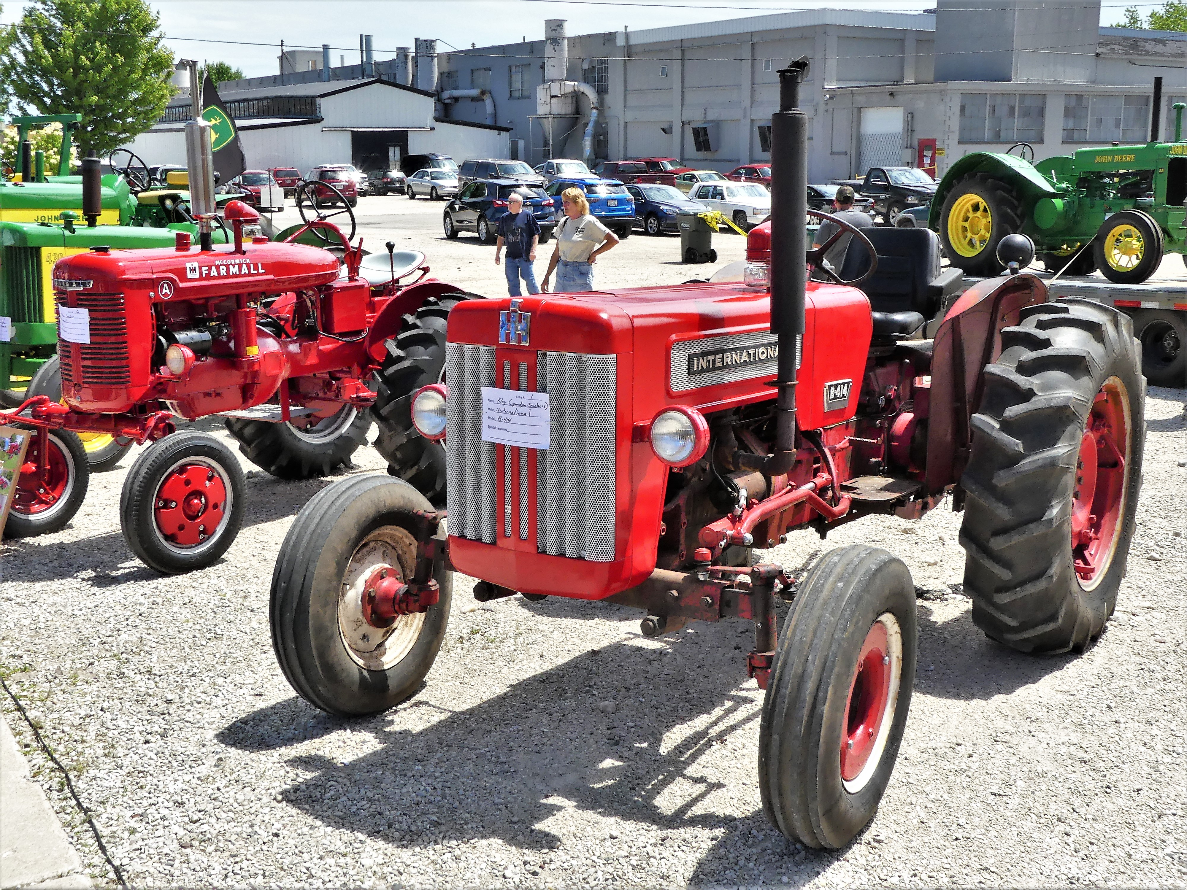 and tractors too