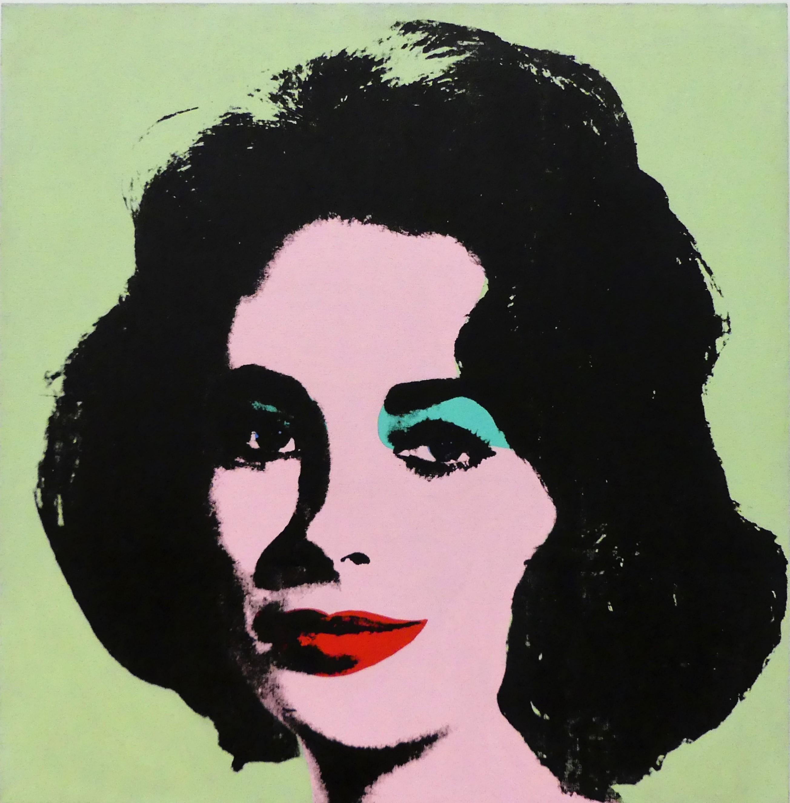 Andy Warhol's Liz #3