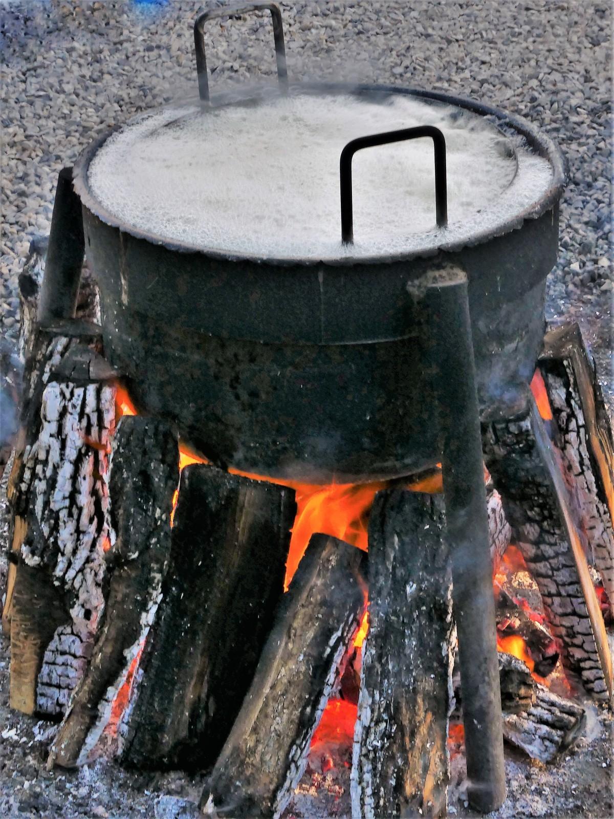 boiling cauldren
