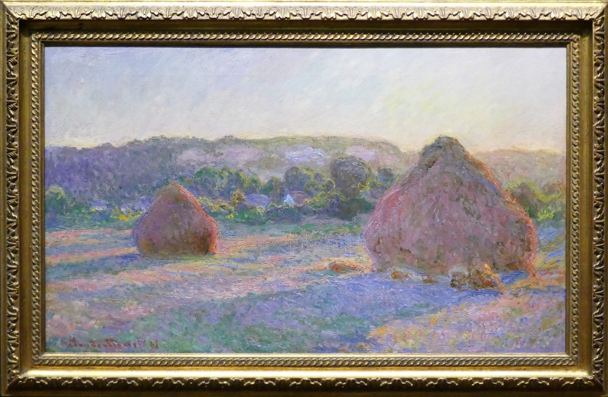 Claude Monet's Stacks of Wheat