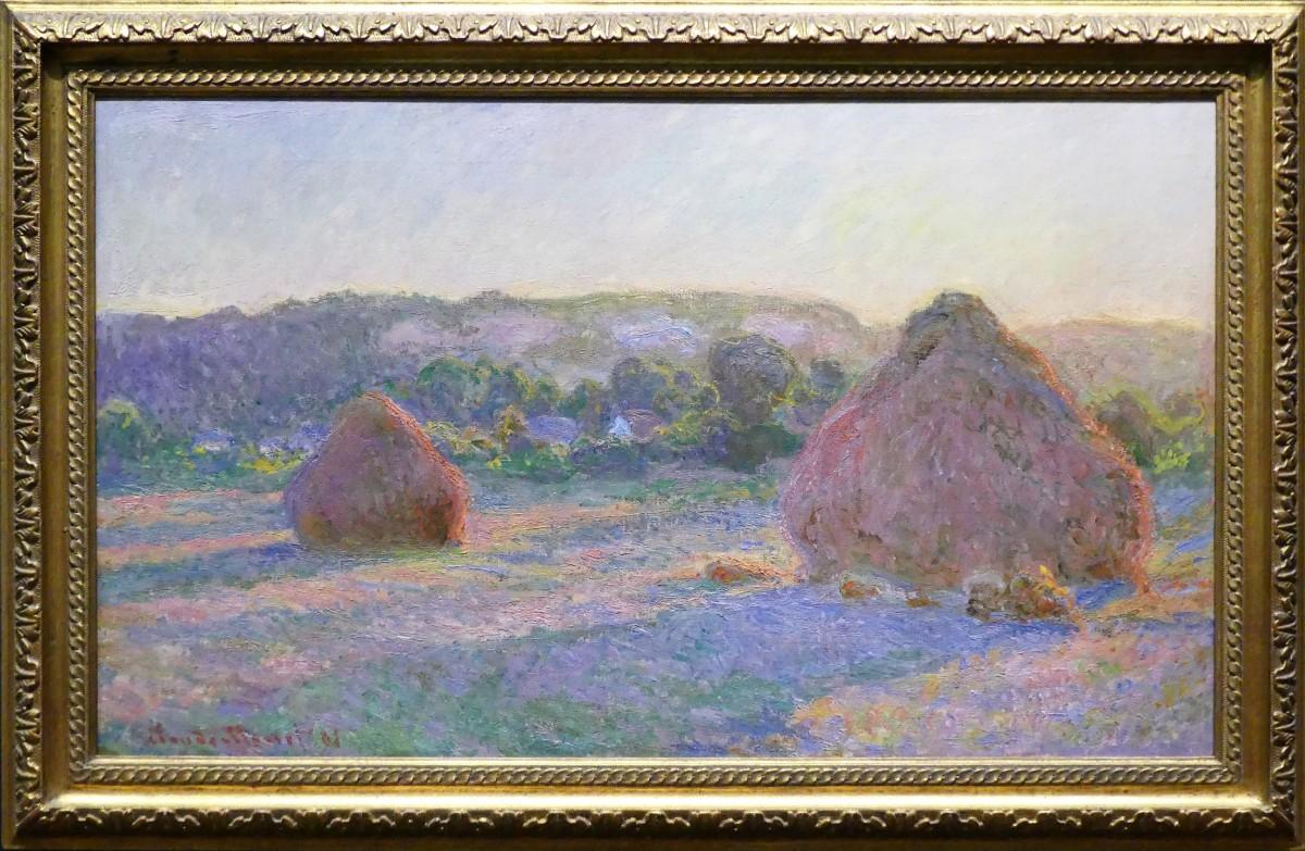 Claude Monet's Stacks of Wheat