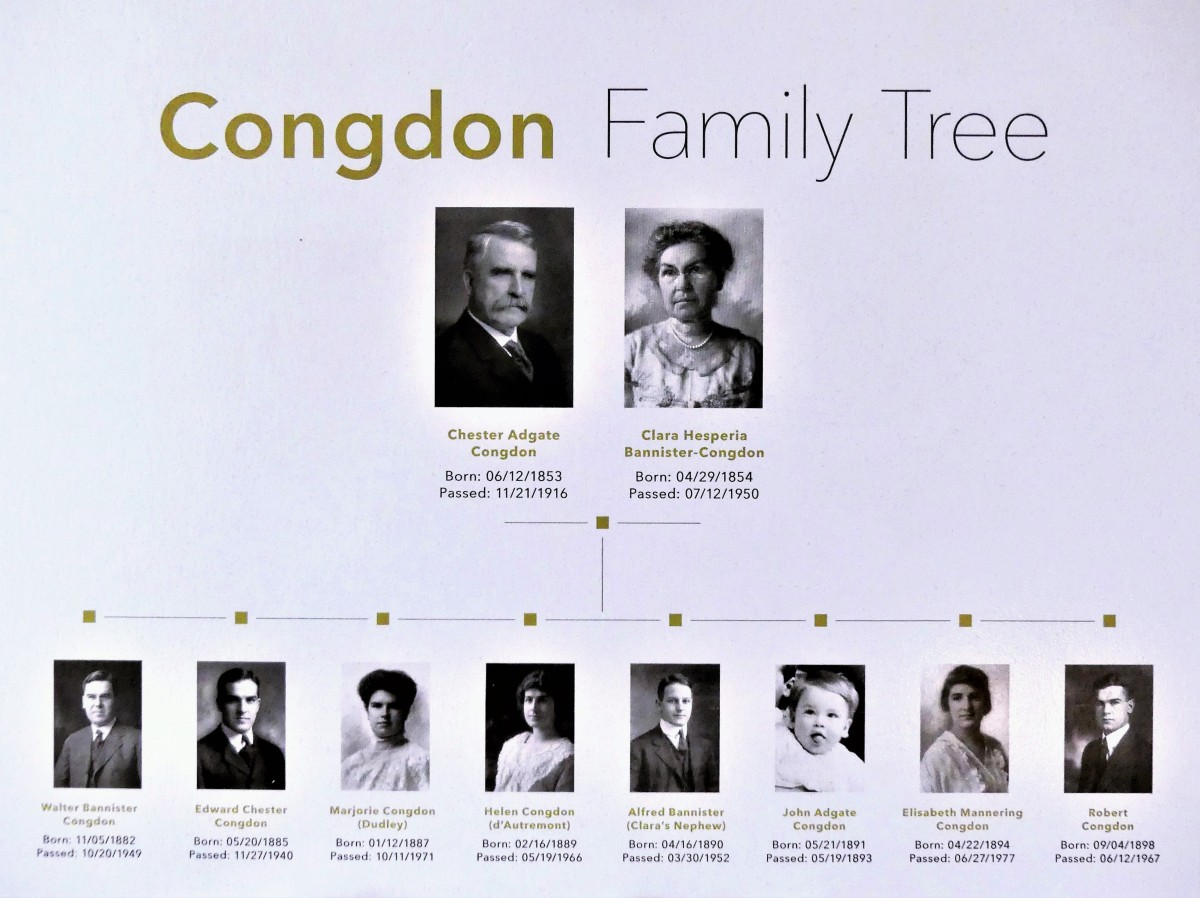 Congdon family tree