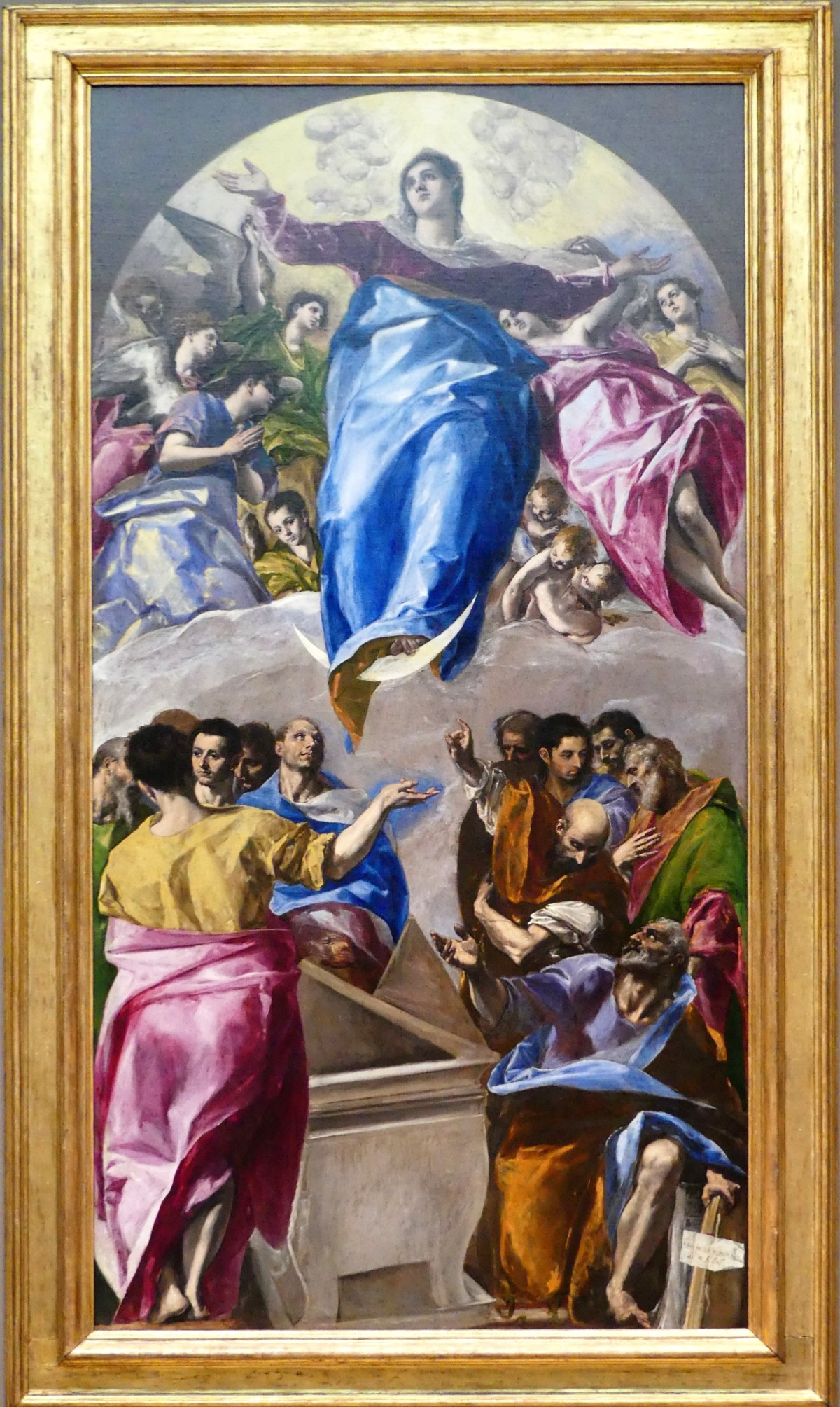El Greco's The Assumption of the Virgin