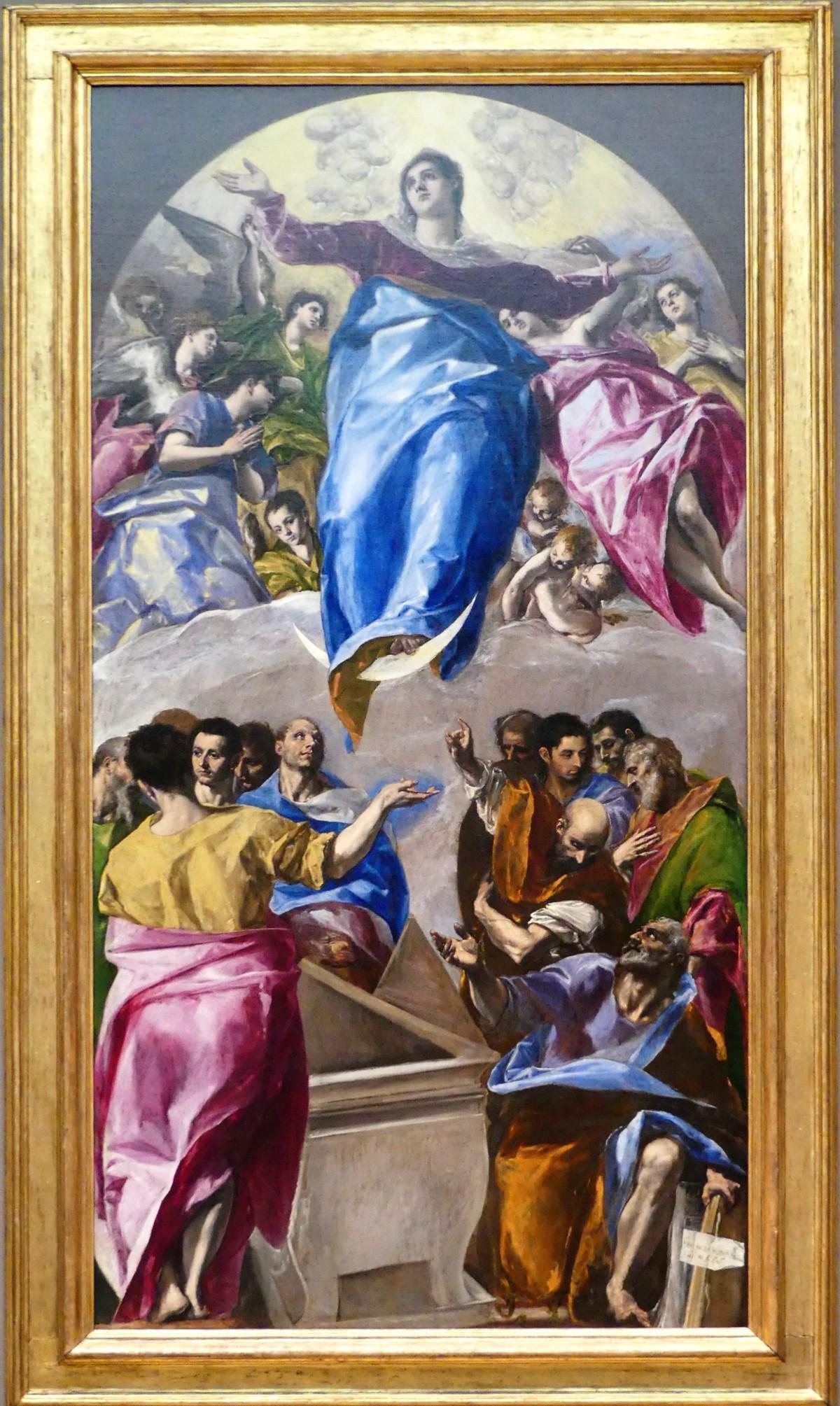El Greco's The Assumption of the Virgin