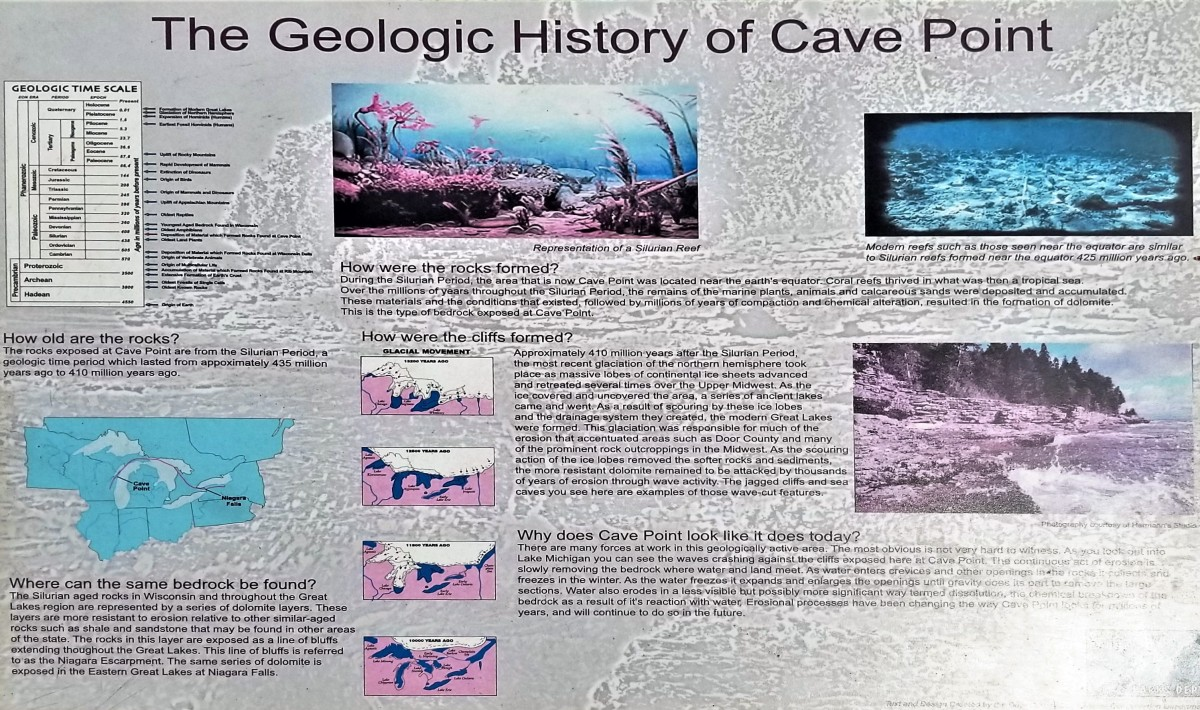 Geologic History of Cave Point