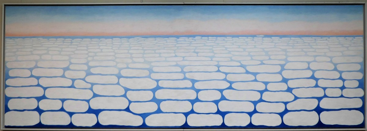 Georgia O'Keefe's Sky above Clouds IV