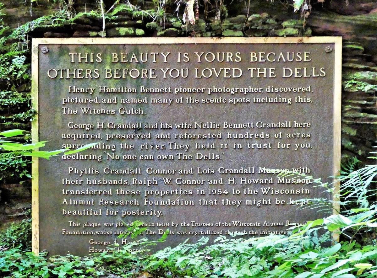 HH Bennett plaque