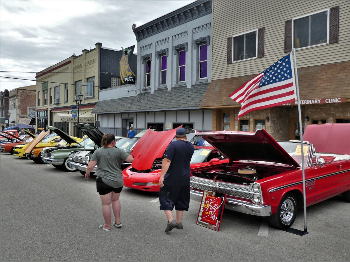 Main St. car show