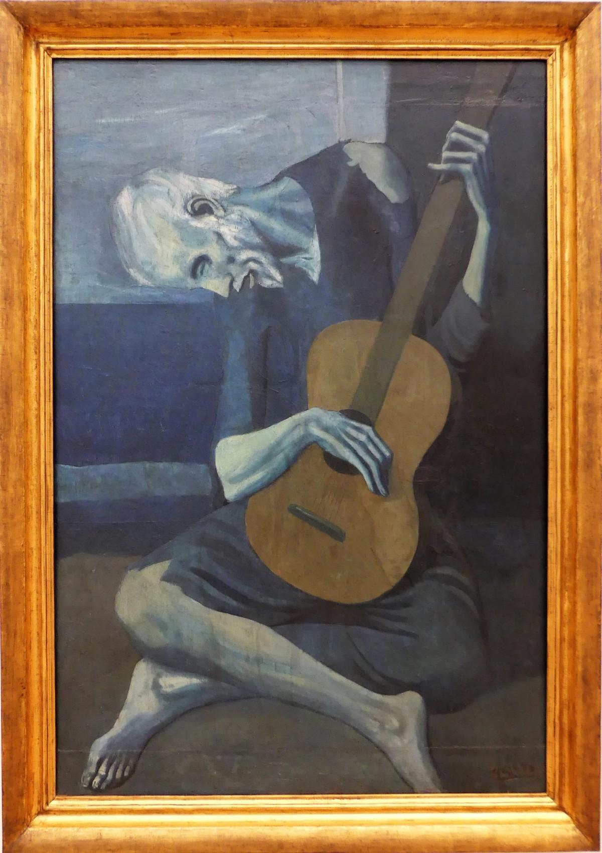 Pablo Picassa's The Old Gitarist