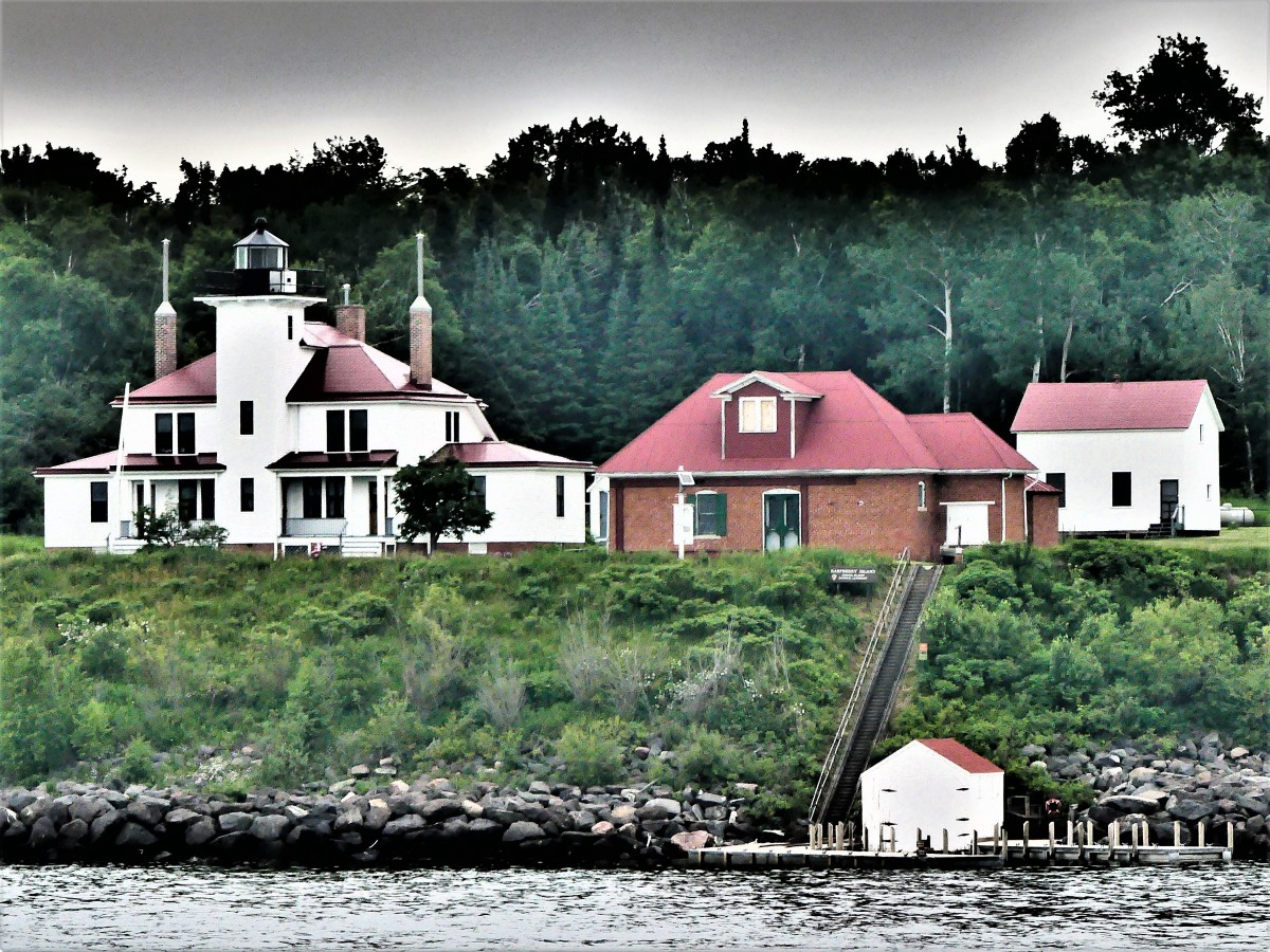 Raspberry Island lighthouse