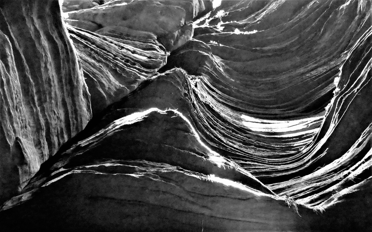 sculpted rock layers1