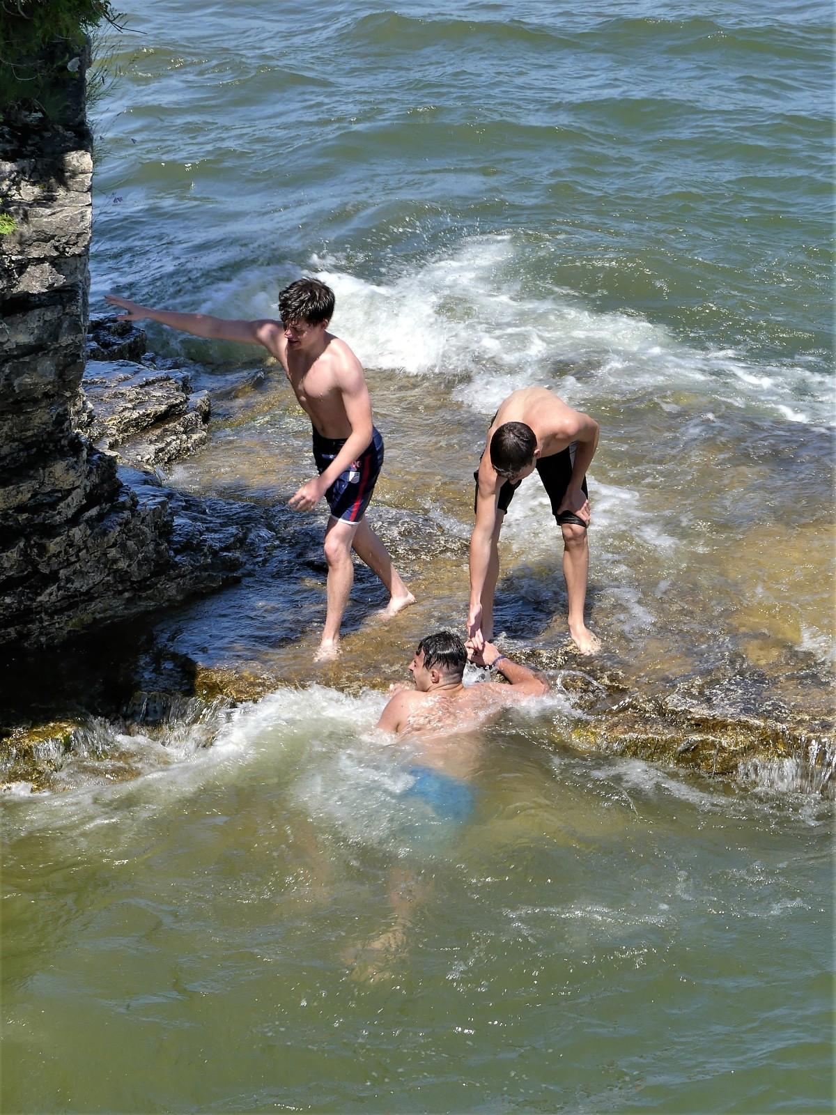 splash recovery