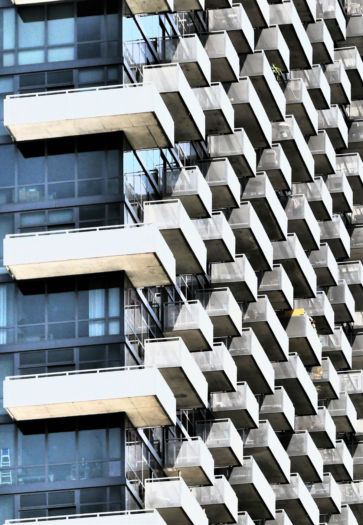 Vasarely balconies