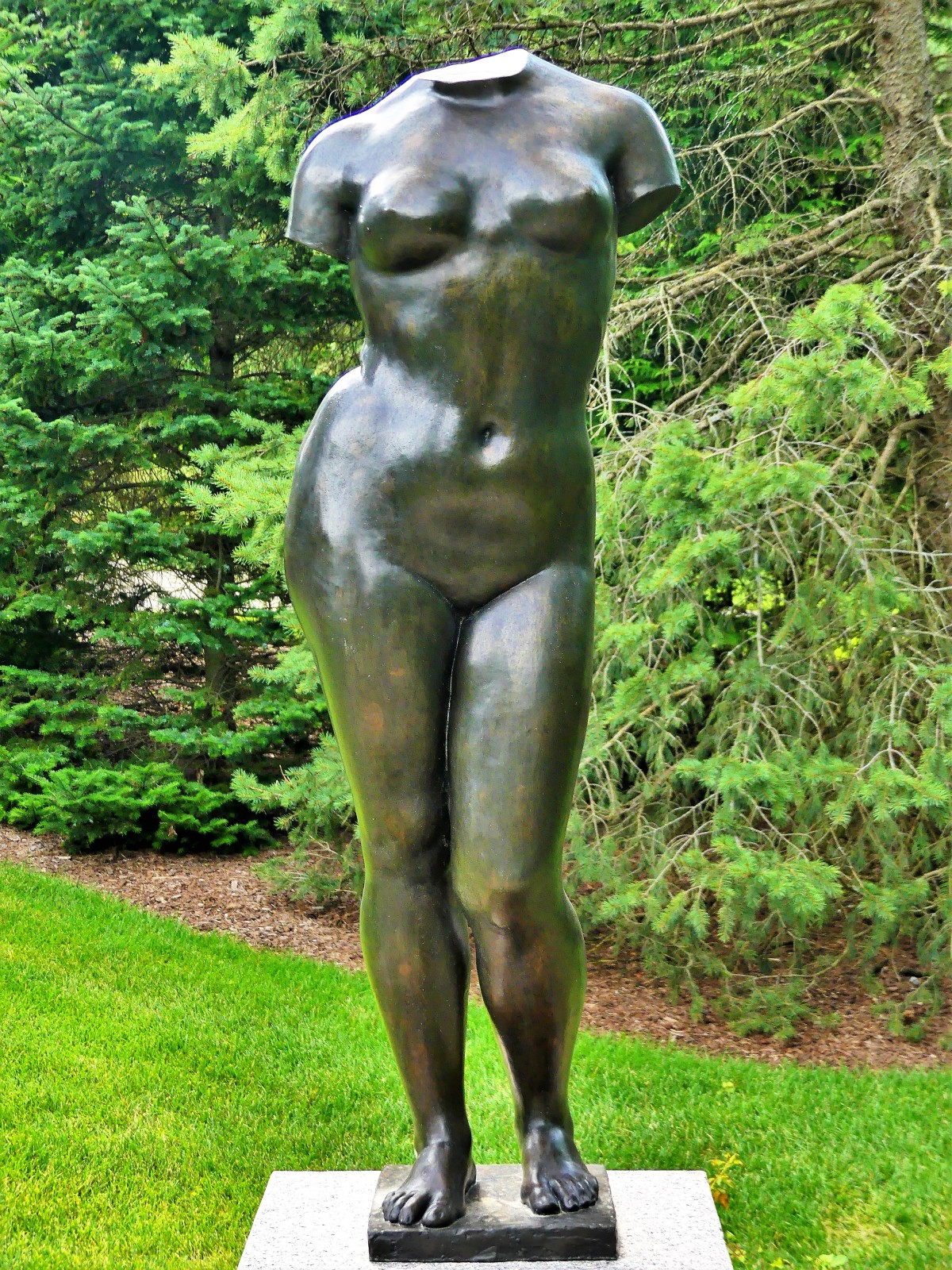 Aristede Maillol's Torso of Summer