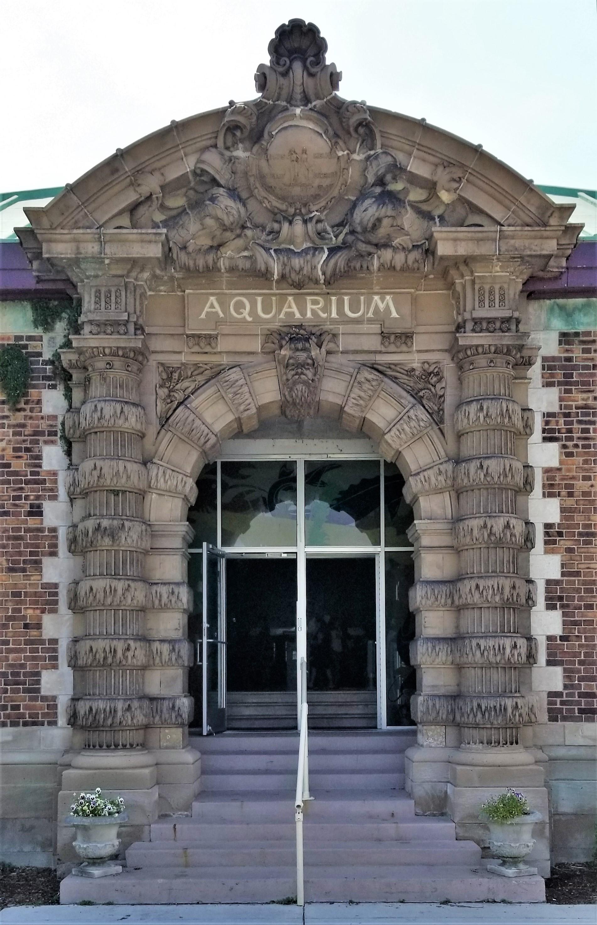 Auquarium facade
