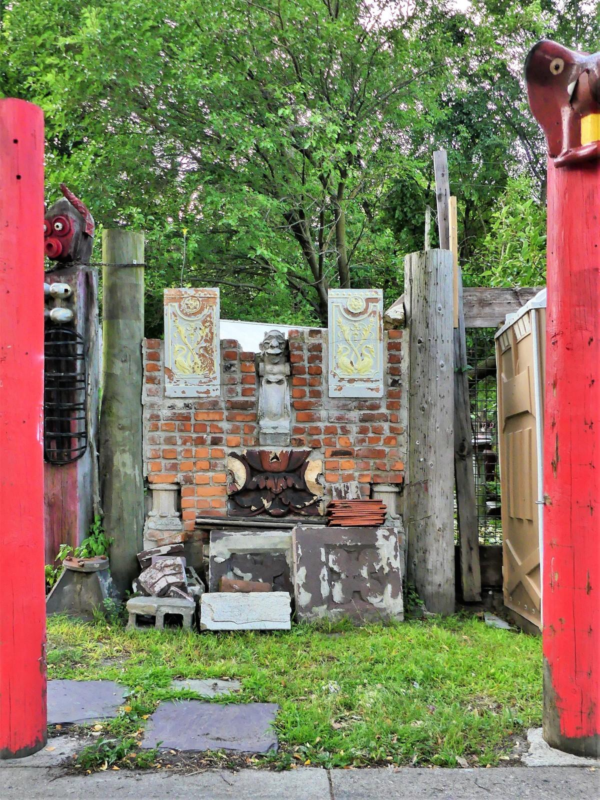 brick shrine