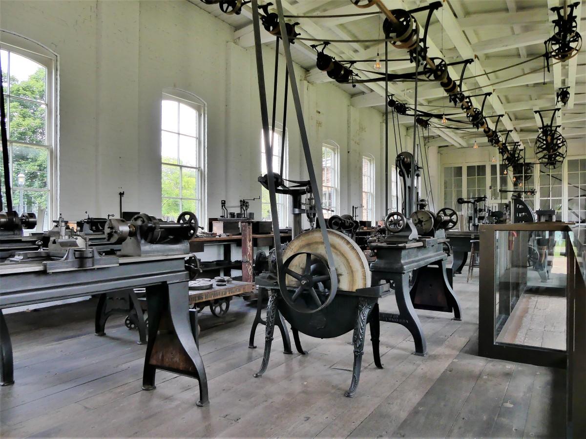 Edison machine shop