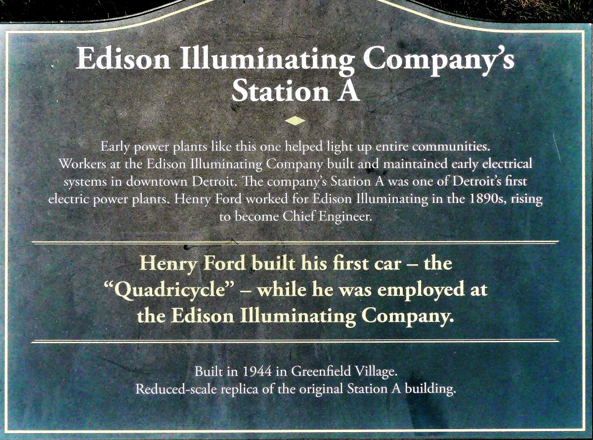 Edison Station sign